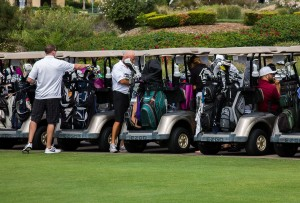 Players at Emiliani Project Golf Tournament
